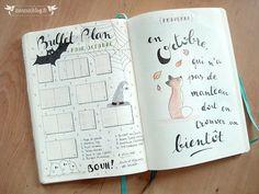 Bullet Journal Octobre par zunzunblog.fr                                                                                                                                                                                 Plus