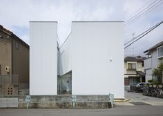 Alphaville's Slice of the City is a house carved into two halves.