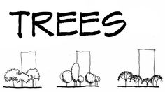 Subscribe! - https://youtube.com/user/themodmin?sub_confirmation=1 How to Draw a tree in 3 different ways as part of drawing landscapes and scenery. This tut...