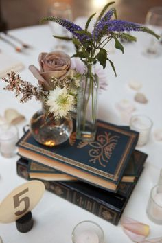 centerpieces - for my nerdy side :)
