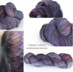 https://www.etsy.com/shop/SockObsessionYarns/items  -  Twinkle Twinkle