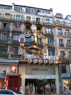 Artists Commune, 59 Rue de Rivoli, Paris. Linda McCluskey's studio.