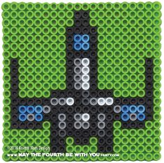 The Force Awakens Poe's T-70 X-Wing Perler Pattern. /// We add new patterns every week! Follow us to make sure you don't miss any! /// Star Wars perler, hama bead, cross-stitch, knitting, Lego, pixel pattern /// Note: Patterns are ©, must include © if posted, and can not be sold. See blog for complete ©. #pixel #pixelart #perler #perlerbeads #hama #hamabeads #starwars #crossstitch #lego #knitting #mosaic #xwing #t70 #theforceawakens #poe #poedameron maythefourthbewithyoupartyblog.com