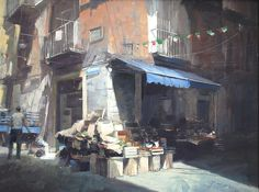 http://www.douglasgray.co.uk/cityscape-paintings