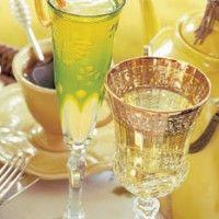 Pomegranate-Champagne Punch - Bon Appétit