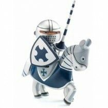Knight Arthur arty toys by djeco Arty Toys, Sonic The Hedgehog, Knight, Fantasy, Christmas Ornaments, Holiday Decor, Fictional Characters, Gift Ideas, Toy