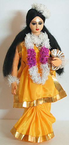Shakuntala - A Character from Mahabharata (Cloth)