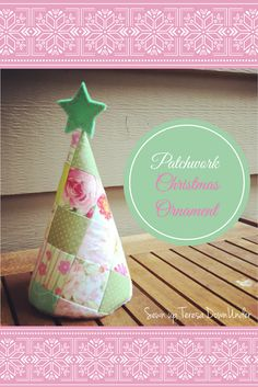 Patchwork Christmas tree tutorial