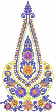 Latest Traditional Summer Patch Designs Collection Of 2014 Embroidery Neck Designs, Wool Thread, Patch Design, Mirror Work, Silk Fabric, Orange Color, Jay, Patches, Traditional