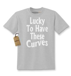 Lucky To Have These Curves Kids T-shirt