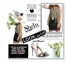 """""""Shein contest"""" by kmen-s ❤ liked on Polyvore featuring Gucci, LSA International and Christian Dior"""