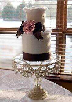 Tickled Pink: Felt Wedding Cake...
