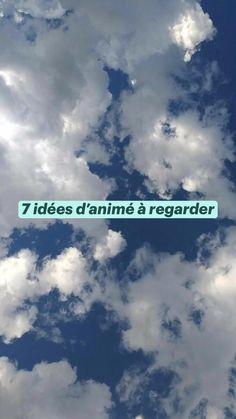 7 idées d'animé à regarder