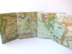 map coasters. love them.