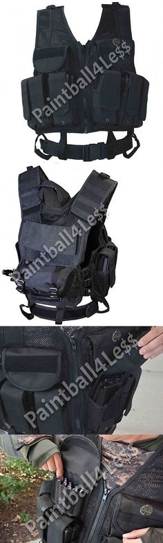 Clothing and Protective Gear 159044: Tippmann Hpa Tactical Vest In Black -> BUY IT NOW ONLY: $99.95 on eBay!