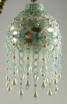 Beaded Victorian Ornaments | Free Beaded Victorian Ornaments Patterns