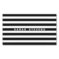 Chic Black and White Striped Modern Makeup Artist Business Card Templates. This is a fully customizable business card and available on several paper types for your needs. You can upload your own image or use the image as is. Just click this template to get started!