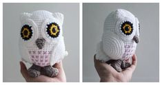 Follow the instructions in this Snowy Baby Owl Amigurumi Free Crochet Pattern to make an adorable owl. Your little ones will love this new addition.