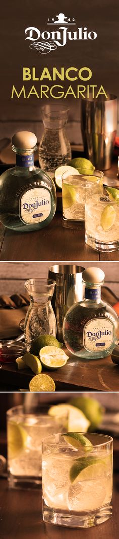 With its crisp agave flavor and hints of citrus notes, Don Julio Blanco is the perfect tequila for the #1 cocktail in the U.S.–the margarita, a crowd pleaser that can be enjoyed year round. Combine 1 oz Don Julio Blanco tequila. To craft this simple yet delicious cocktail, combine 1 oz Don Julio Blanco Tequila, ½ oz fresh lime juice, and 1 tsp. of agave nectar into a cocktail shaker with ice. Shake well, strain into a rocks glass over ice, top with ½ oz soda, and garnish with a lime wedge.