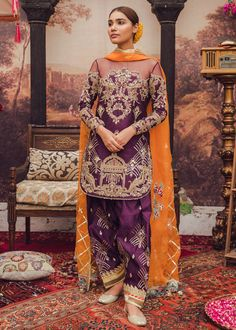Love Pakistani Gharara And Anarkalis? Pakistani Fashion Party Wear, Pakistani Dresses Casual, Pakistani Wedding Outfits, Indian Bridal Outfits, Pakistani Dress Design, Indian Designer Outfits, Indian Dresses, Designer Dresses, Pakistani Gharara