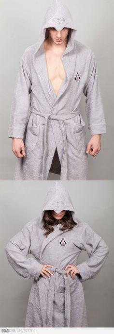 Assassin Bathrobe - I really need this