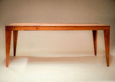 Handmade brazilian cherry solid wood coffee table by Wolutta and MS