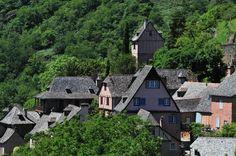 Conques, ancien sanctuaire dans l'Aveyron