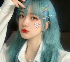 Ulzzang Hair, Ulzzang Korean Girl, Cute Korean Girl, Cute Girls, Cool Girl, Mode Kpop, Aesthetic Hair, Uzzlang Girl, Ombre Hair Color
