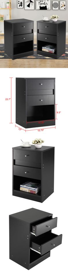 south shore libra collection night stand black buy now 33 64