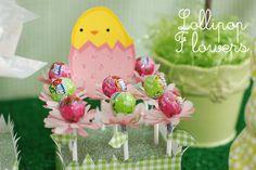 Bird's Party Blog: TUTORIAL: Lollipop Flowers