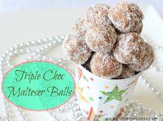 Triple Choc Malteser Balls feature