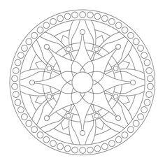 Coloring Mandalas: 37 Nourish