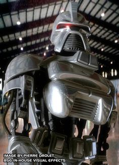 Cylon-would they be the aliens we have to face?  An inferior organic life form might go this route for self preservation.
