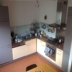 Keuken in hoekopstelling