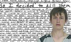 """Jake Evans, 17 from Texas has confessed to police that he shot his mother and sister after watching a horror film about a boy who kills without remorse. He calmly explained how he planned to kill several members of his family last October - inspired by the 2007 remake of the horror classic Halloween.  """"While watching it, I was amazed at how at ease the boy was during the murders and how little remorse he had.  Afterward, I was thinking to myself it would be the same for me when I kill…"""