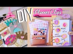 DIY Planner Clips + Paris Plan With Me #PlanWithSummer
