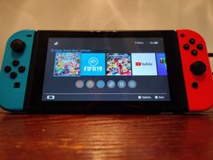 Like new Nintendo Switch system. Comes with: Switch Screen protector (installed since day no scratches) Switch Grip, pictured SD card Dock (not pictured) Nintendo Carrying Case Game cases Super Mash Bros Mario Cart FIFA 19 (loaded into SD card) Super Nintendo, Nintendo Games, Nintendo Consoles, Nintendo Switch System, Mundo Dos Games, Game Room Design, Hunting Rifles, Football Kits, Baby Boy Rooms