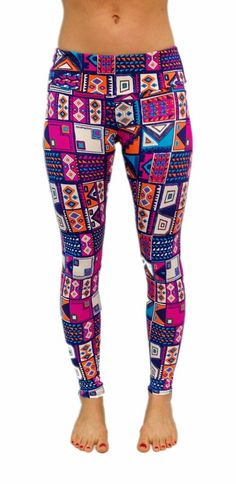 Onzie Aztec Legging - have these pants and love them - Onzie, another one of my go to for yoga wear - because as I always say - one can never have too many pairs of yoga pants