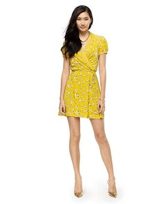 Silk Floral Wrap Dress - Juicy Couture