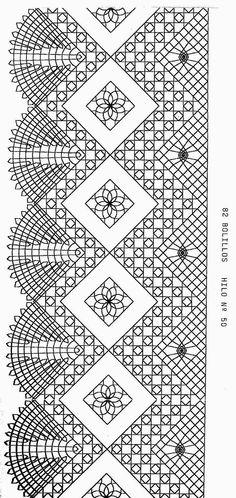 2 Bobbin Lace Patterns, Weaving Patterns, Filet Crochet, Crochet Stitches, Bobbin Lacemaking, Lace Art, Lace Jewelry, Tatting Lace, Needle Lace