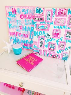 Cute Room Ideas, Cute Room Decor, Room Ideas Bedroom, Bedroom Decor, Bedroom Inspo, Preppy Bedroom, Dorm Art, College Room, Room Goals