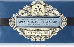 AAA Aromatherapy Spearmint & Rosemary Triple Milled Soap 200g / 7oz