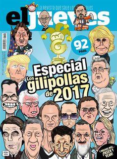 Portada Revista El Jueves nº. 2118