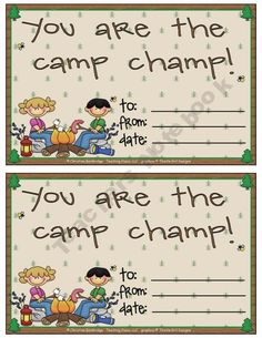 Camping / outdoors classroom theme