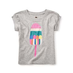Rainbow Pop Graphic Tee - Tea Collection | kids tees | kids clothes | kids trends | kids summer clothes