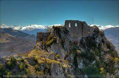 Roquefixade Castle Ruins, France