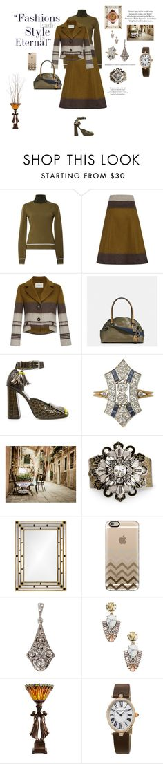 """""""Color block"""" by mbarbosa ❤ liked on Polyvore featuring Blumarine, Carolina Herrera, Coach, SUNO New York, ASOS, WALL, Sweet Romance, Mirror Image Home, Casetify and Sole Society"""