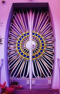 funky #purple #door