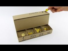How to make a coin sorting machine with cardboard | The Kid Should See This