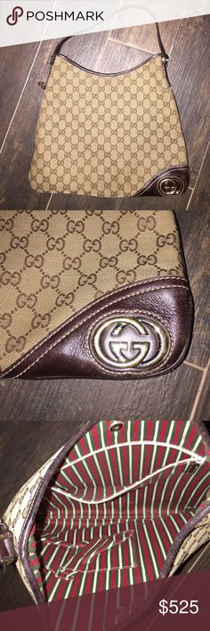 Authentic Gucci Hobo Handbag Authentic Gucci hobo handbag. Purchased IN ITALY at Gucci store. This purchase comes with free authentication by Poshmark. Gucci Bags Hobos